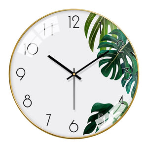 Foliage Modern Wall Clock - The Quirky Home Co