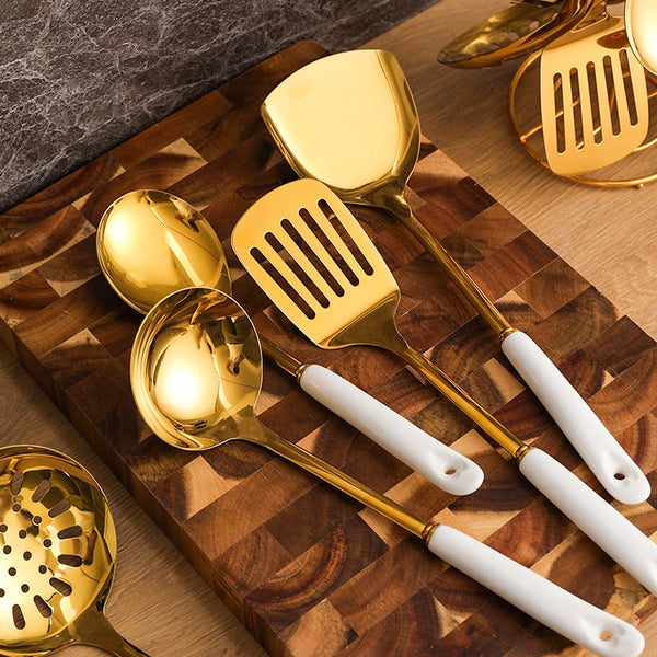 Cooking Utensils Stainless Steel Set