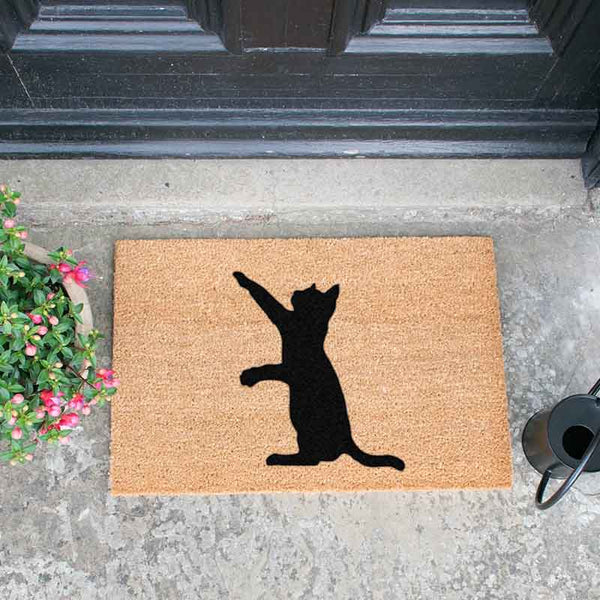 Cat Doormat - The Quirky Home Co