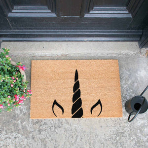 Unicorn Horn Doormat - The Quirky Home Co