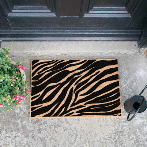 Zebra Print Doormat - The Quirky Home Co