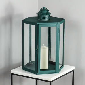 Indoor Outdoor Deep Green Lantern
