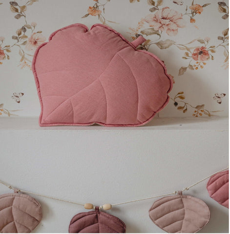 products/LeafCushionChildsBedroomPink.jpg
