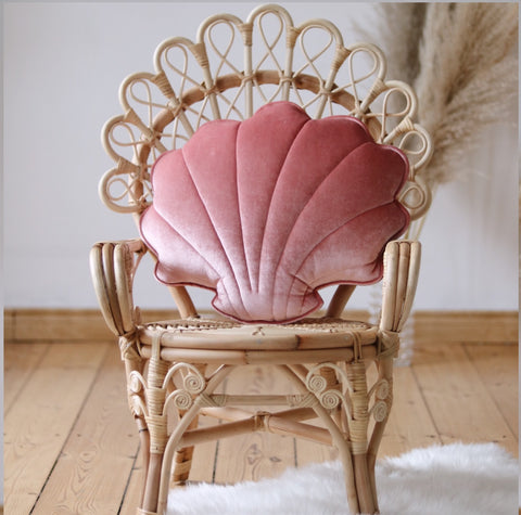 Marsala Pearl Velvet Shell Cushion
