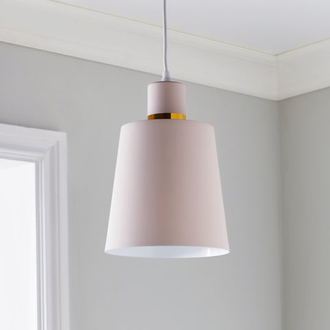 Pastel Pink Pendant Lamp Shade - The Quirky Home Co