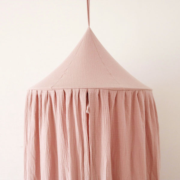 Baby Pink Indoor Canopy - The Quirky Home Co
