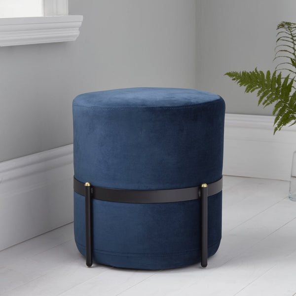 Mystique Blue Stilts Stool - The Quirky Home Co