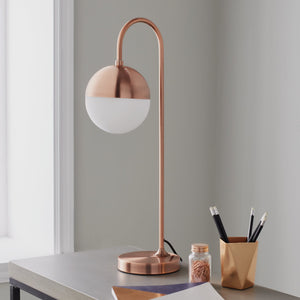 Mayfair Rose Gold Table Lamp - The Quirky Home Co