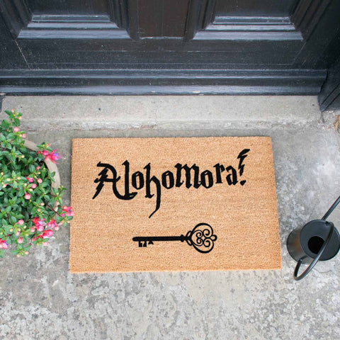 Alohomora Doormat - The Quirky Home Co