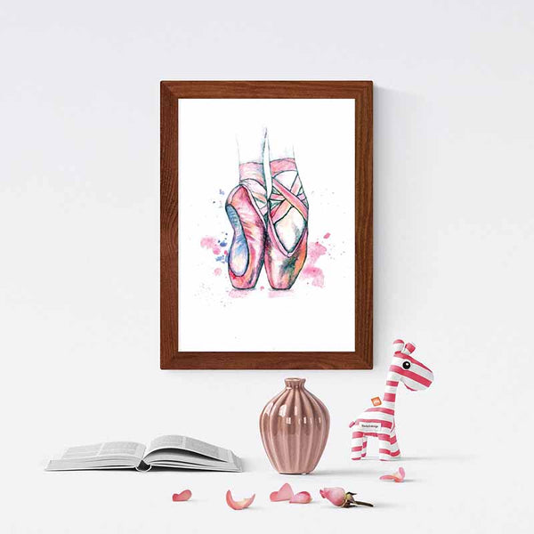 Ballet Shoes Wall Art - The Quirky Home Co