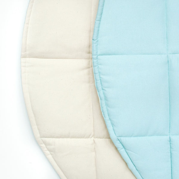 Mint & Beige Double Sided Ring Mat