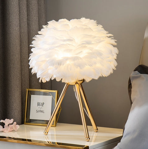 Feathered Table Lamps (LED)
