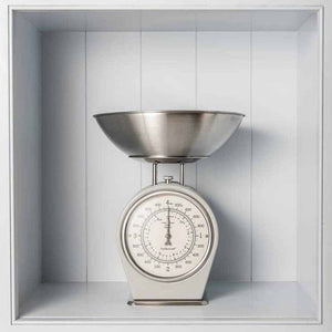 French Inspired Traditional Kitchen Scales - The Quirky Home Co