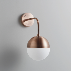 Mayfair Rose Gold Wall Lamp - The Quirky Home Co
