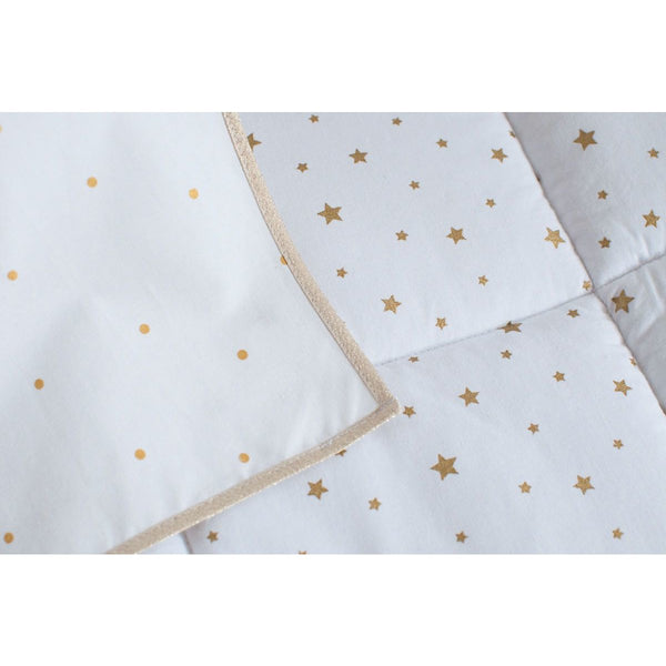 Gold Spots Teepee Tent - The Quirky Home Co