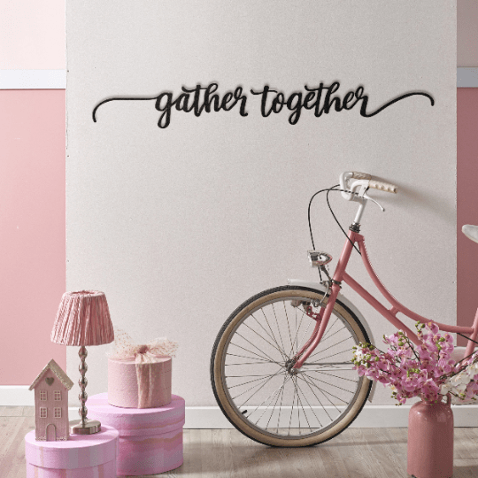 Gather Together - Metal Wall Art - The Quirky Home Co