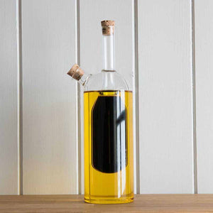 Large Oil & Vinegar Cruet Bottle - Jumbo Design  - The Quirky Home Co