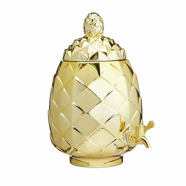 Pineapple Drinks Dispenser - The Quirky Home Co