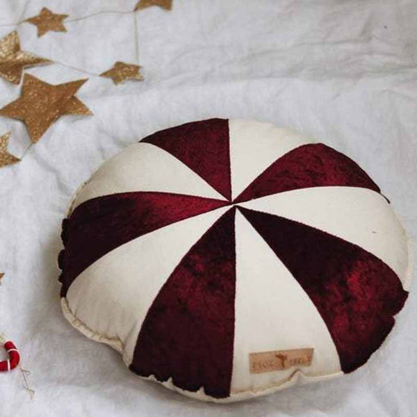 Circus Red Patchwork Ring Cushion - The Quirky Home Co