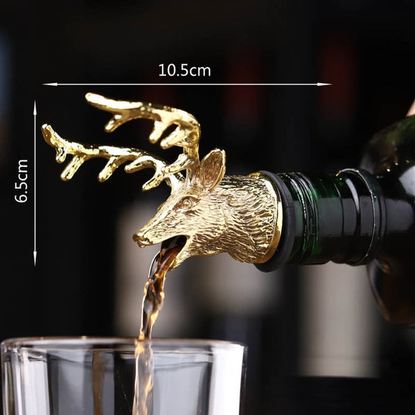 Animal Stainless Steel Drinks Pourer - The Quirky Home Co