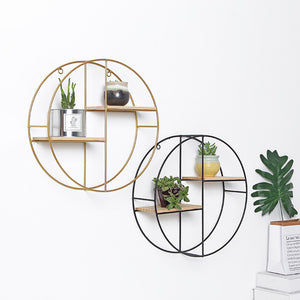 Round Retro Wall Shelf - The Quirky Home Co