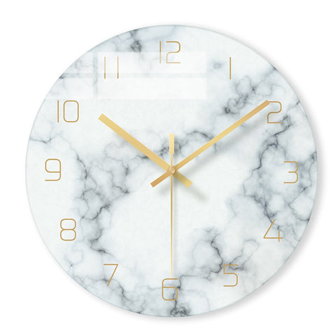 Modern Marble Wall Clock ( 6 Colours )