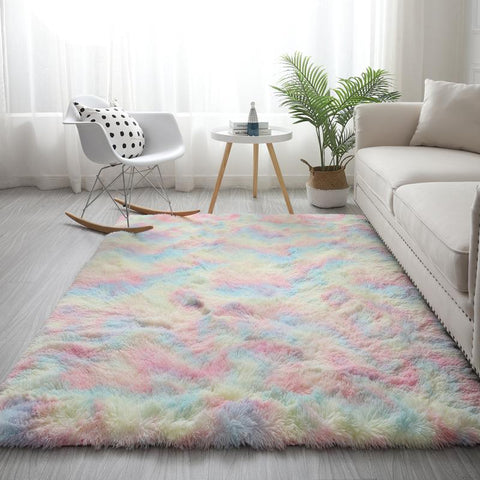 Rainbow Colour Rug
