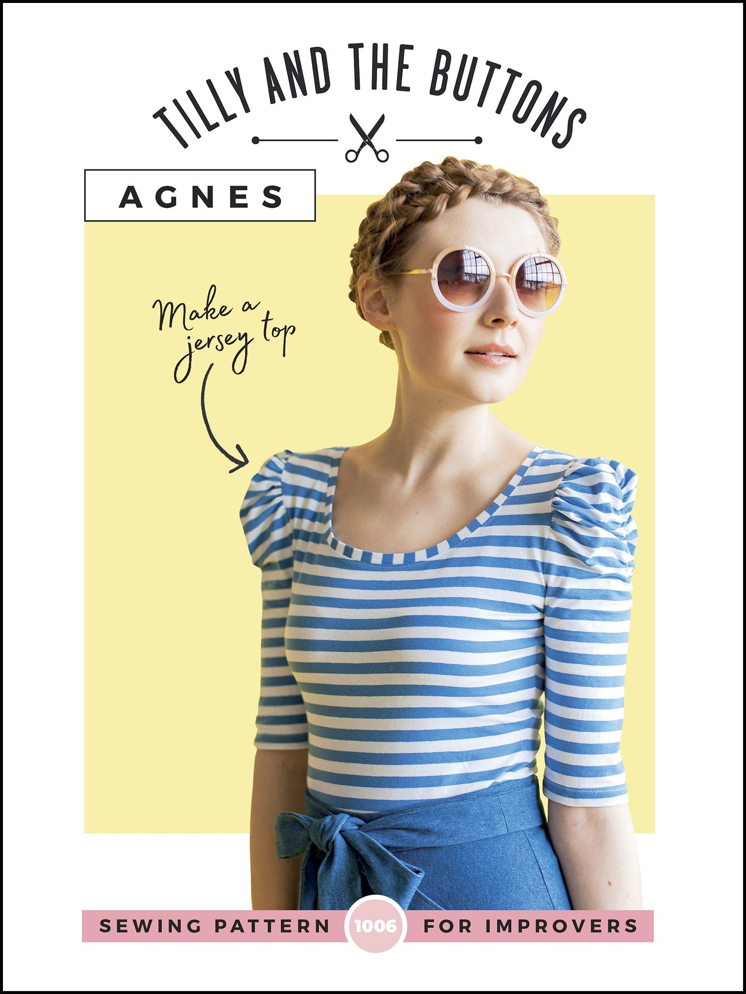TILLY AND THE BUTTONS AGNES JERSEY TOP PATTERN