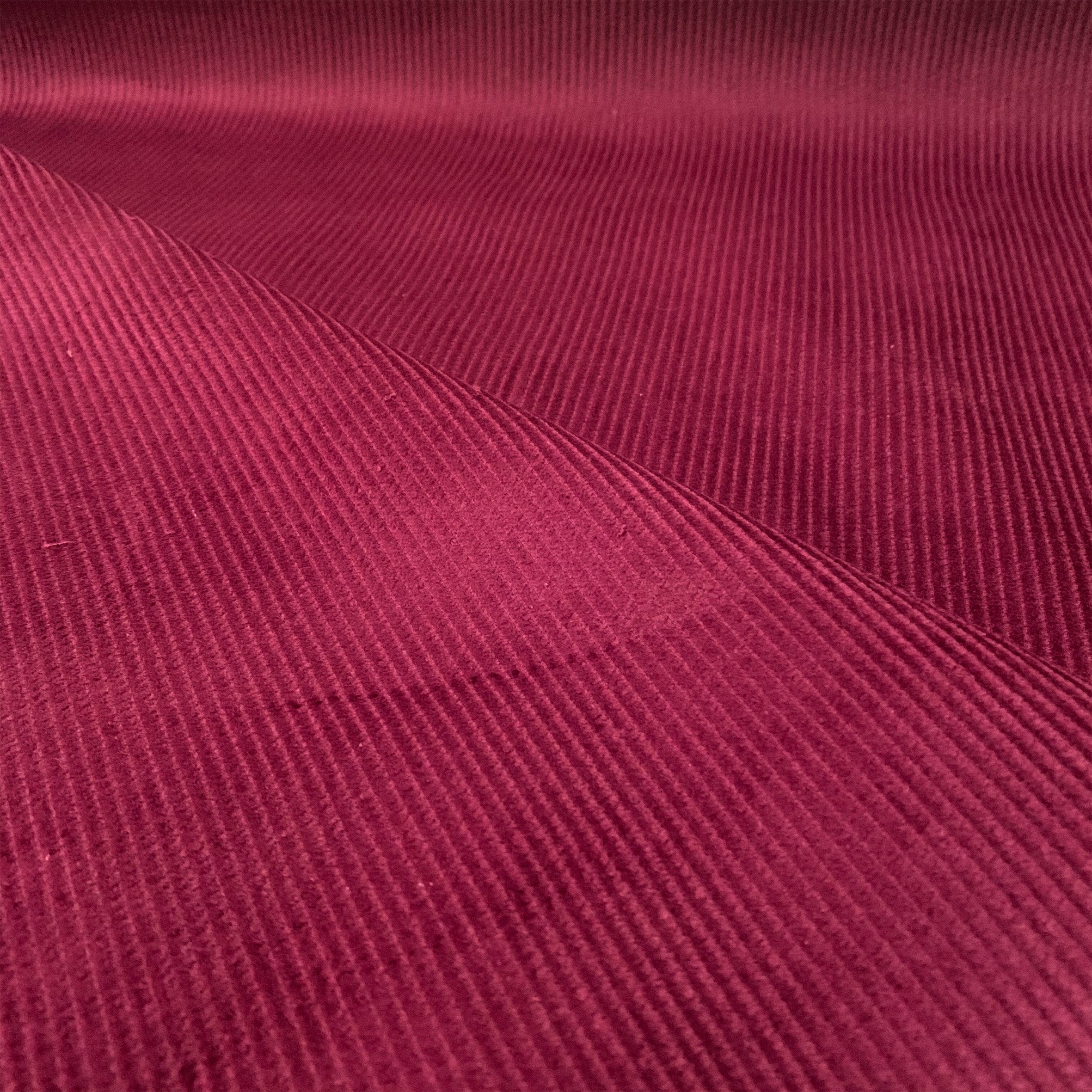 WINE MAROON RED 8 WALE COTTON CORDUROY FABRIC