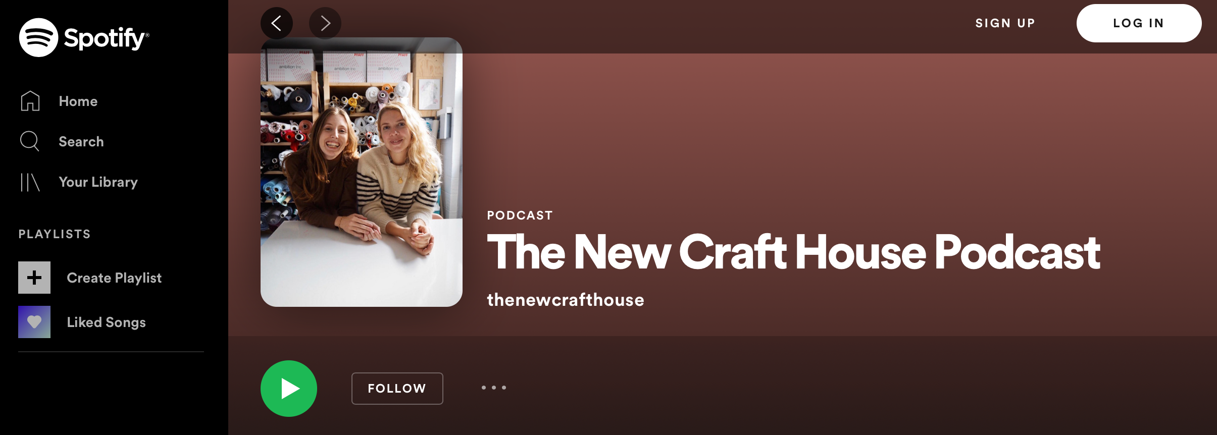 THE NEW CRAFT HOUSE PODCAST SPOTIFY
