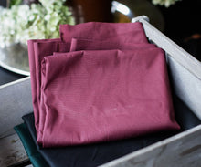 Load image into Gallery viewer, MIND THE MAKER ORGANIC DRY WAXED COTTON IN RED WINE