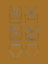 Load image into Gallery viewer, MADE MY WARDROBE JOSIE BRA & PANTS SET
