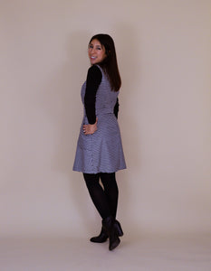 NINA LEE PATTERNS CAMDEN PINAFORE AND SKIRT