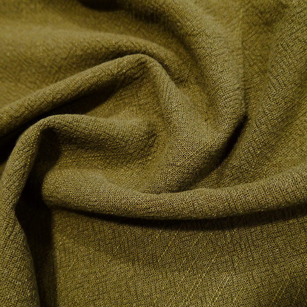 STONEWASHED LINEN IN MOSS GREEN