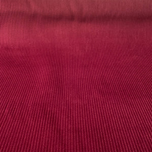 COTTON CORDUROY 8 WALE IN WINE