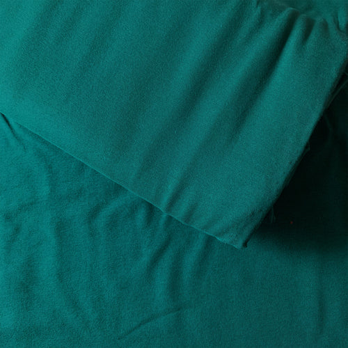 ORGANIC COTTON JERSEY PINE GREEN