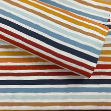 Load image into Gallery viewer, PAINTED STRIPE FRENCH TERRY FABRIC