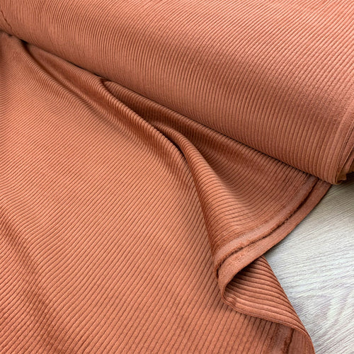 BUBBLE SOFT CORD CORDUROY CINNAMON