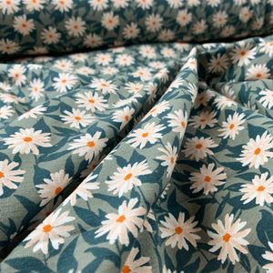 MILDREDS PRESSED FLOWERS COTTON JERSEY ART GALLERY FABRICS