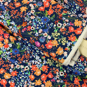 WILD BOTANICS COTTON LAWN FABRIC LADY MCELROY