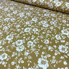 Load image into Gallery viewer, GOLDEN FLORAL COTTON POPLIN