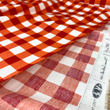 Load image into Gallery viewer, PLAID OF MY DREAMS JOYFUL ORANGE BY ART GALLERY FABRICS