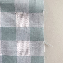 Load image into Gallery viewer, SKY BLUE TEXTURED COTTON GINGHAM
