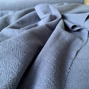 STONEWASHED LINEN IN DENIM BLUE