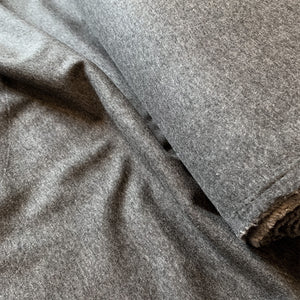 CHARCOAL GREY ALPINE FLEECE SWEATSHIRTING FABRIC