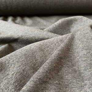 CHARCOAL GREY ALPINE SWEATSHIRTING