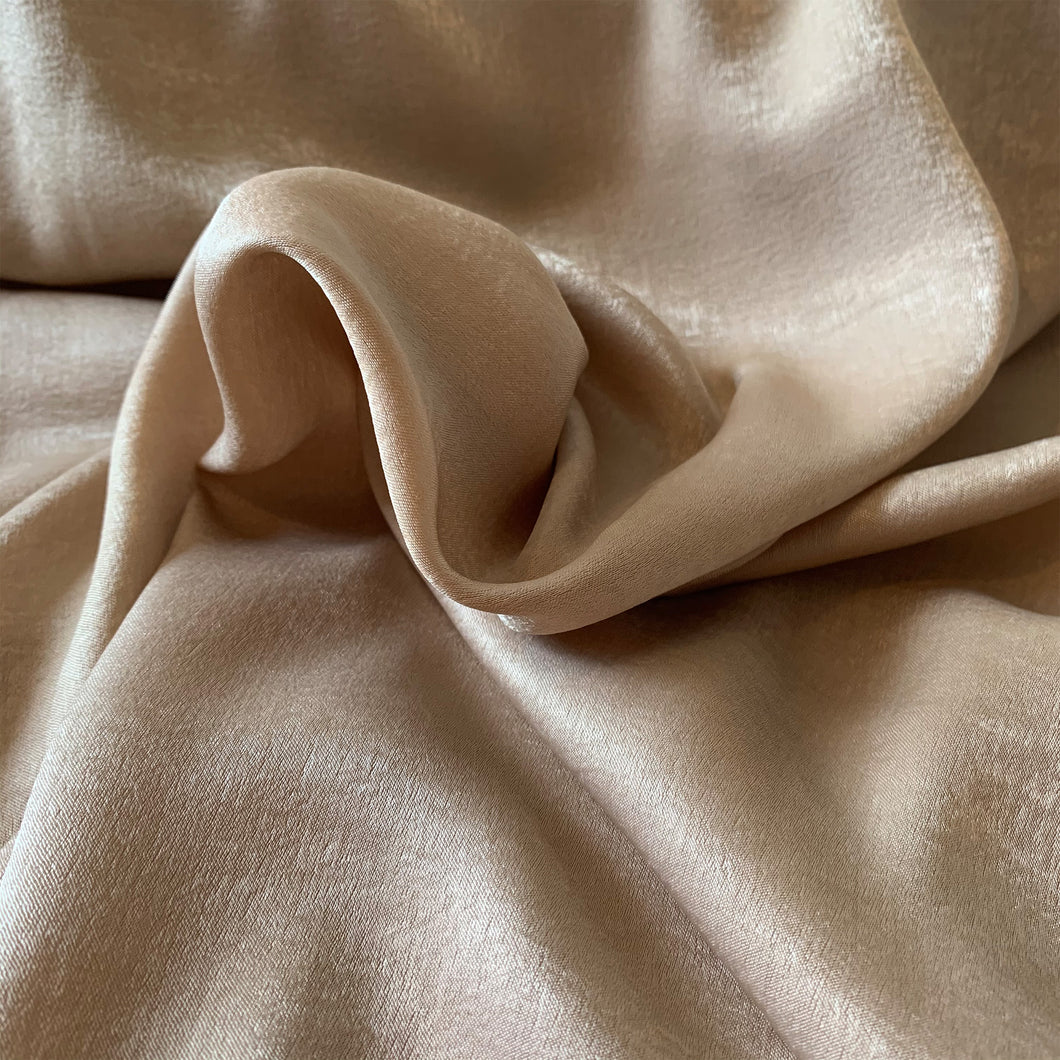 MINK VELVET TOUCH SATIN FABRIC