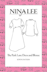 NINA LEE PARK LANE DRESS PATTERN