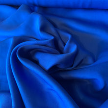 Load image into Gallery viewer, COBALT BLUE TENCEL TWILL FABRIC