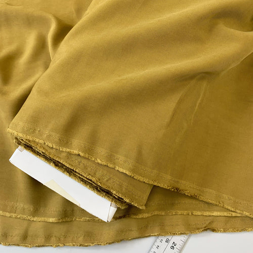 CHARTREUSE LYOCELL TWILL FABRIC